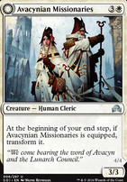 Shadows Over Innistrad Foil: Avacynian Missionaries