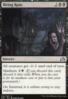Shadows Over Innistrad Foil: Biting Rain