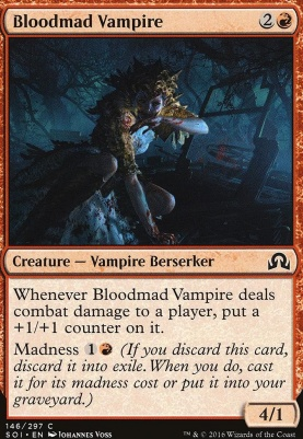 Shadows Over Innistrad Foil: Bloodmad Vampire