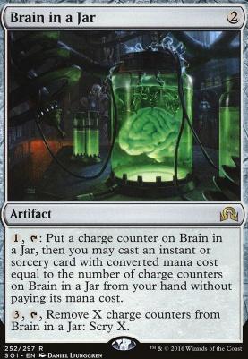 Shadows Over Innistrad: Brain in a Jar