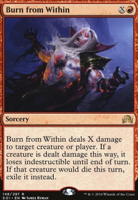 Shadows Over Innistrad: Burn from Within