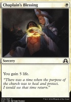 Shadows Over Innistrad: Chaplain's Blessing
