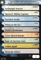 Shadows Over Innistrad: Checklist Card Rare/Mythic (Shadows Over Innistrad 2)
