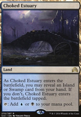 Shadows Over Innistrad: Choked Estuary