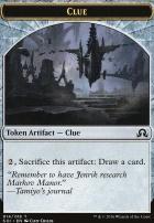 Shadows Over Innistrad: Clue Token (014)