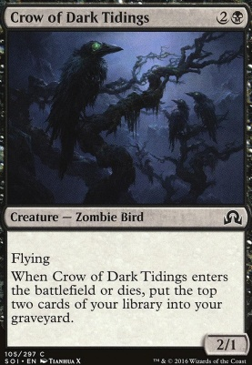 Shadows Over Innistrad Foil: Crow of Dark Tidings