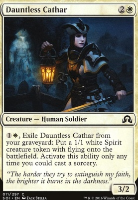 Shadows Over Innistrad Foil: Dauntless Cathar