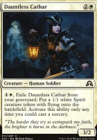 Shadows Over Innistrad Foil: Dauntless Cathar