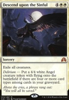 Shadows Over Innistrad Foil: Descend upon the Sinful