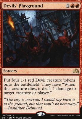 Shadows Over Innistrad Foil: Devils' Playground