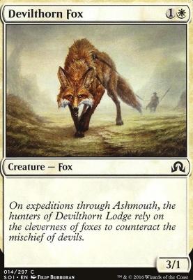Shadows Over Innistrad: Devilthorn Fox