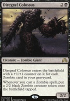 Shadows Over Innistrad: Diregraf Colossus