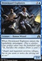 Shadows Over Innistrad: Drownyard Explorers