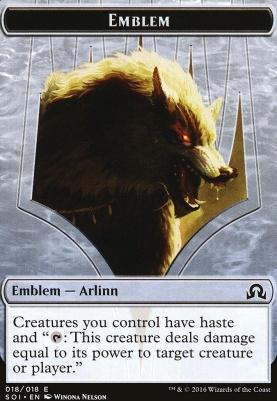 Shadows Over Innistrad: Emblem (Arlinn)