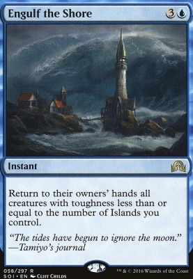 Shadows Over Innistrad Foil: Engulf the Shore