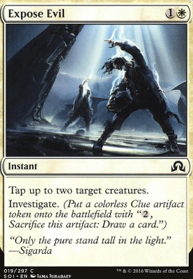Shadows Over Innistrad: Expose Evil