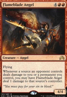Shadows Over Innistrad: Flameblade Angel