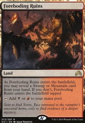 Shadows Over Innistrad: Foreboding Ruins