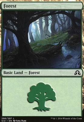 Shadows Over Innistrad Foil: Forest (296 B)