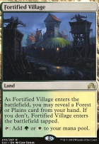 Shadows Over Innistrad Foil: Fortified Village