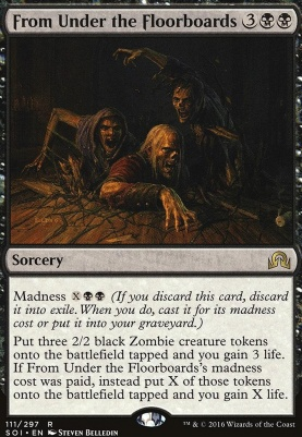 Shadows Over Innistrad Foil: From Under the Floorboards