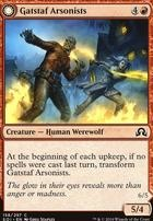 Shadows Over Innistrad Foil: Gatstaf Arsonists