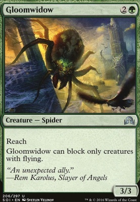 Shadows Over Innistrad Foil: Gloomwidow