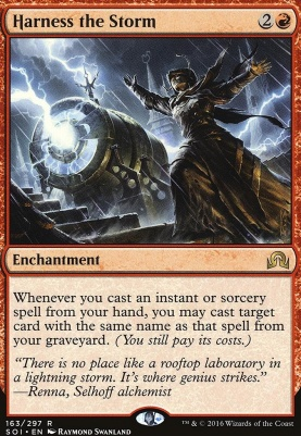 Shadows Over Innistrad Foil: Harness the Storm