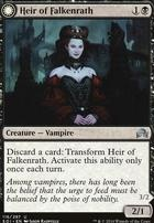 Shadows Over Innistrad Foil: Heir of Falkenrath