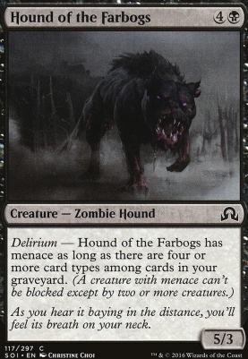 Shadows Over Innistrad: Hound of the Farbogs