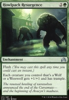 Shadows Over Innistrad Foil: Howlpack Resurgence