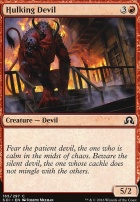 Shadows Over Innistrad Foil: Hulking Devil