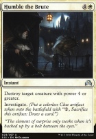 Shadows Over Innistrad: Humble the Brute