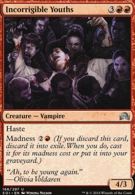 Shadows Over Innistrad Foil: Incorrigible Youths