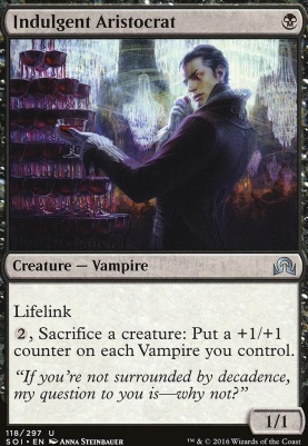 Shadows Over Innistrad: Indulgent Aristocrat