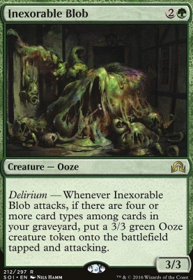 Shadows Over Innistrad Foil: Inexorable Blob