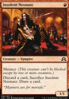 Shadows Over Innistrad Foil: Insolent Neonate