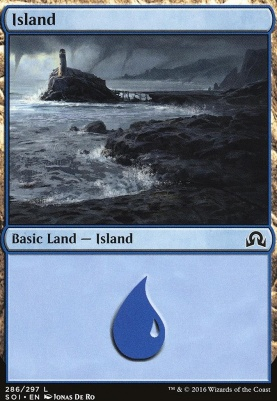 Shadows Over Innistrad: Island (286 A)