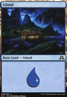 Shadows Over Innistrad: Island (288 C)