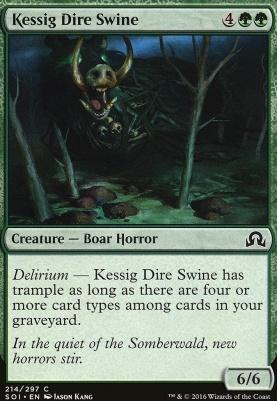 Shadows Over Innistrad Foil: Kessig Dire Swine