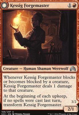 Shadows Over Innistrad Foil: Kessig Forgemaster