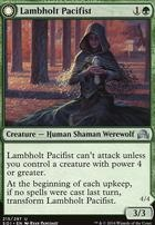 Shadows Over Innistrad Foil: Lambholt Pacifist