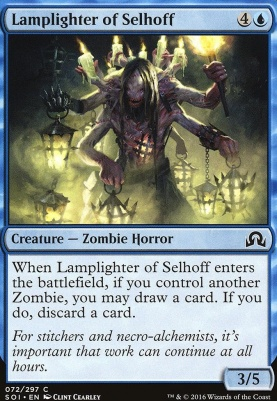 Shadows Over Innistrad Foil: Lamplighter of Selhoff