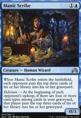 Shadows Over Innistrad: Manic Scribe