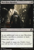 Shadows Over Innistrad Foil: Merciless Resolve