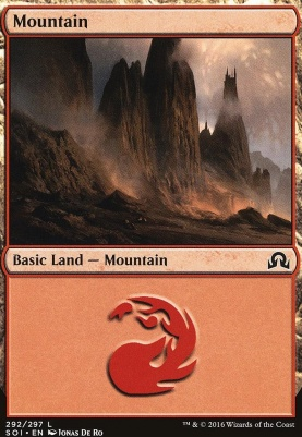 Shadows Over Innistrad: Mountain (292 A)