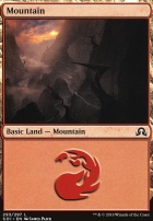 Shadows Over Innistrad: Mountain (293 B)