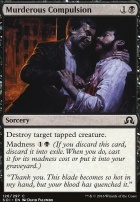 Shadows Over Innistrad Foil: Murderous Compulsion