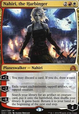 the Harbinger Shadows Over Innistrad 1x NM-Mint English Regular Nahiri
