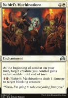 Shadows Over Innistrad Foil: Nahiri's Machinations